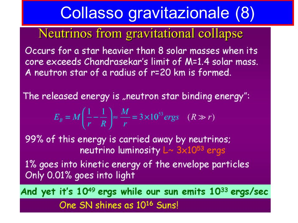 Collasso gravitazionale (8)