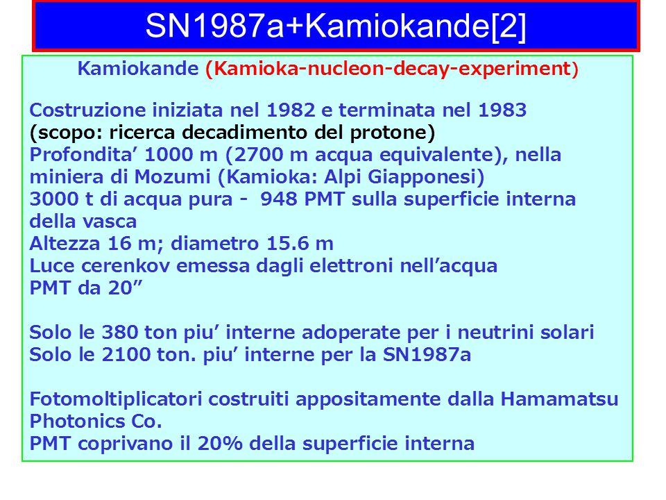 Kamiokande (Kamioka-nucleon-decay-experiment)