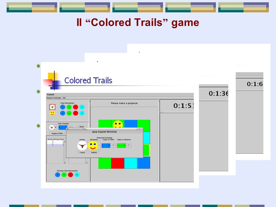 Il Colored Trails game