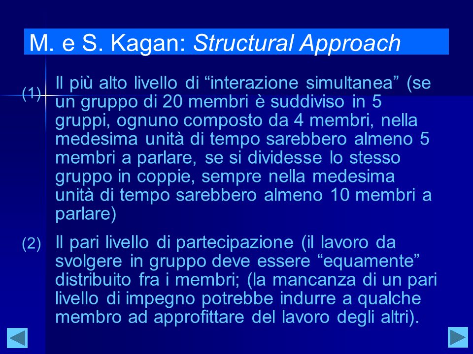 M. e S. Kagan: Structural Approach