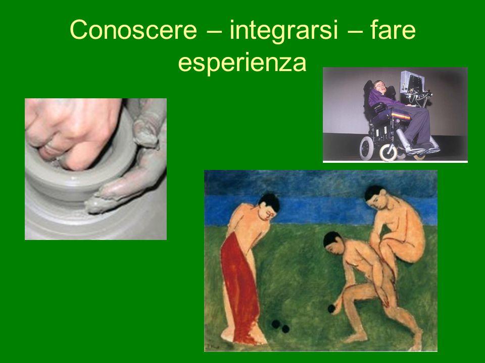 Conoscere – integrarsi – fare esperienza