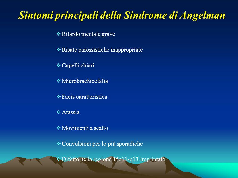 Sintomi principali della Sindrome di Angelman