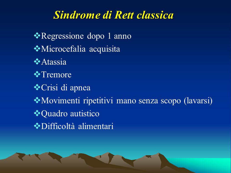 Sindrome di Rett classica