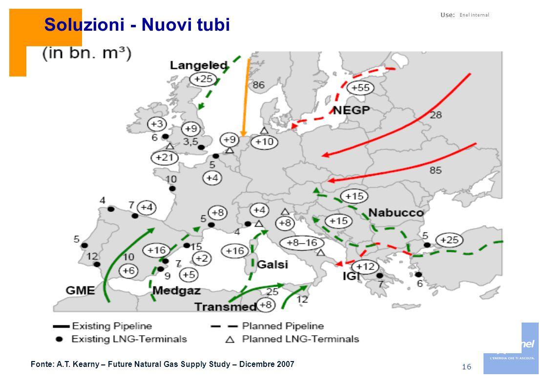 Soluzioni – Sviluppo terminali GNL in Europa