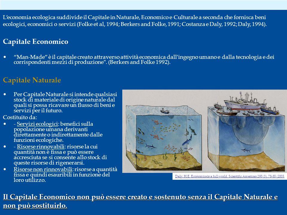 Capitale Economico Capitale Naturale