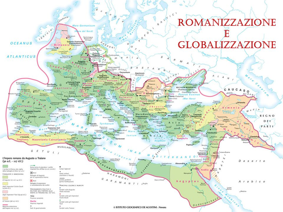 Romanizzazione E Globalizzazione