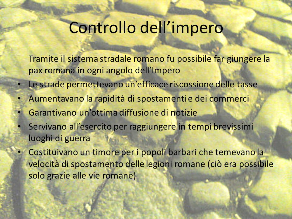 Controllo dell'impero