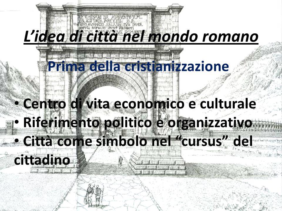 L'idea di città nel mondo romano