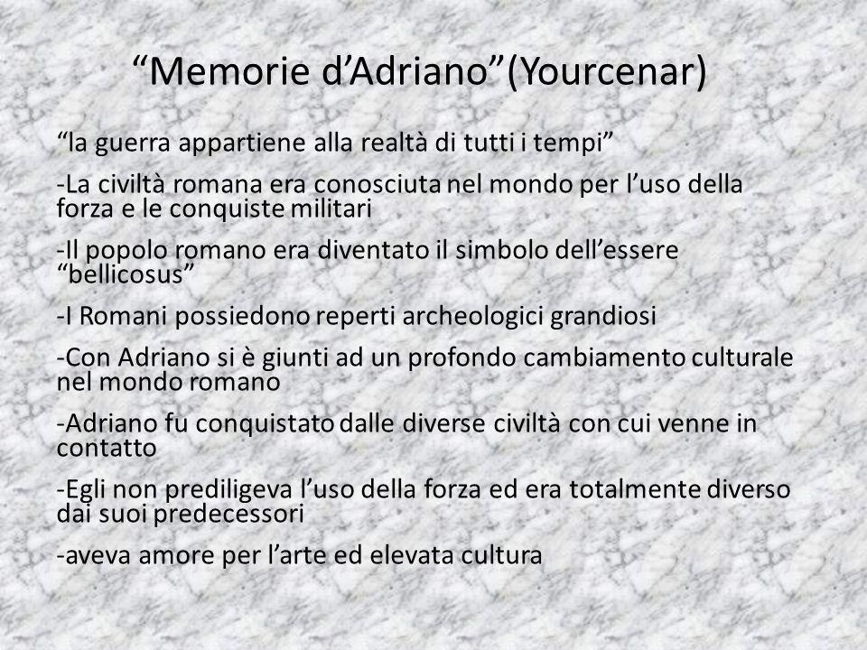 Memorie d'Adriano (Yourcenar)