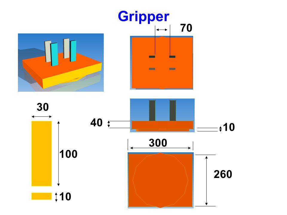 Gripper 70 30 40 10 300 100 260 10