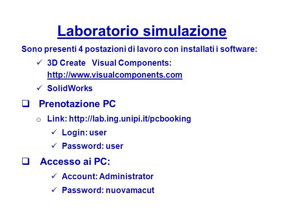 Laboratorio simulazione