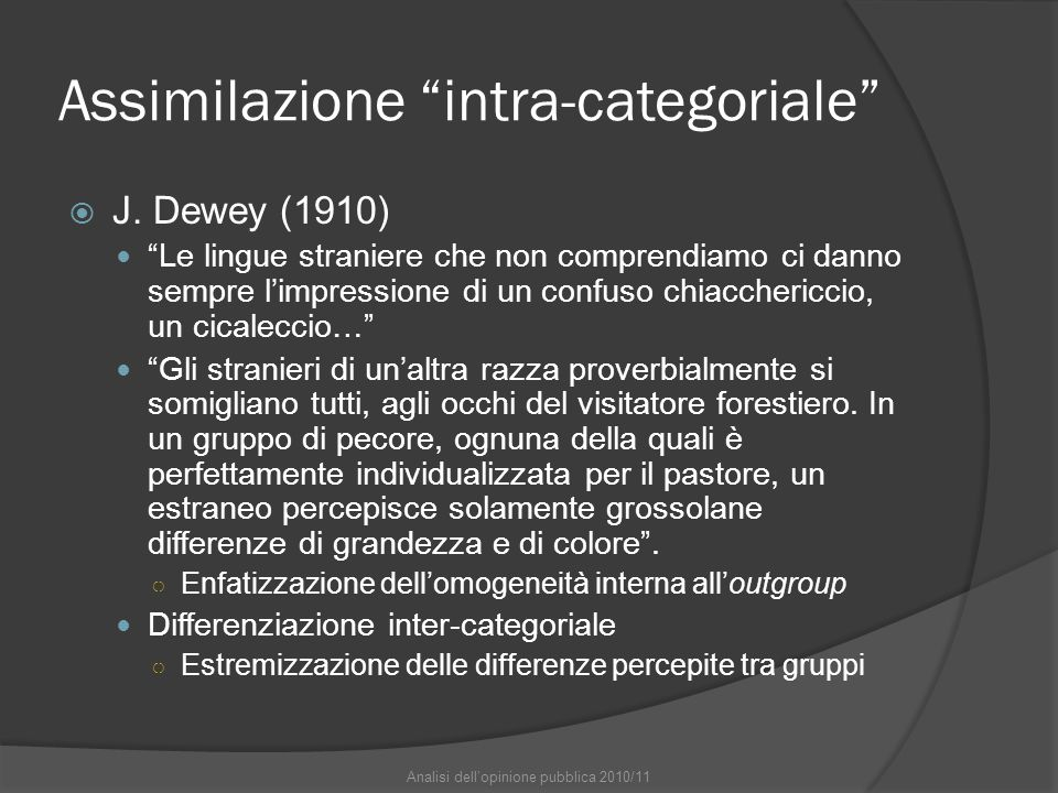 Assimilazione intra-categoriale