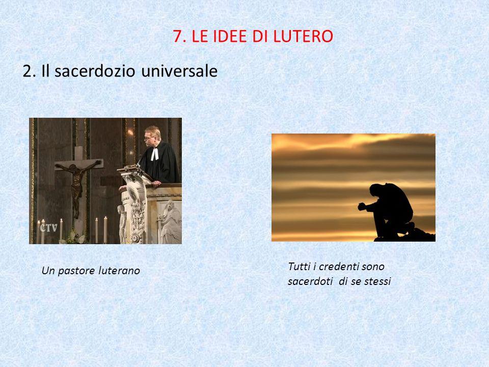 2. Il sacerdozio universale