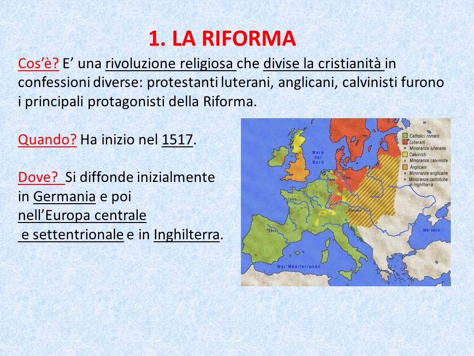 1. LA RIFORMA