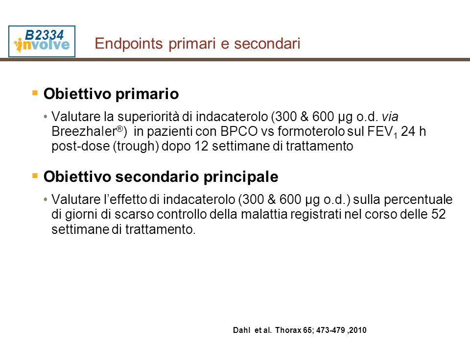 Endpoints primari e secondari