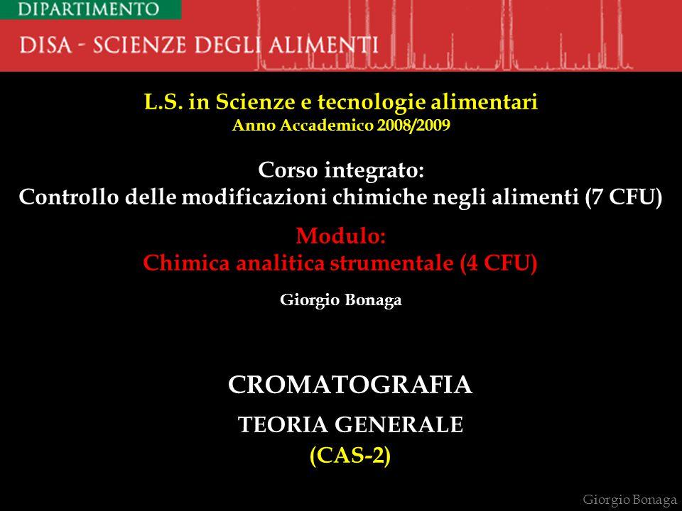 CROMATOGRAFIA TEORIA GENERALE (CAS-2)