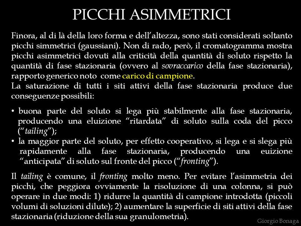 PICCHI ASIMMETRICI