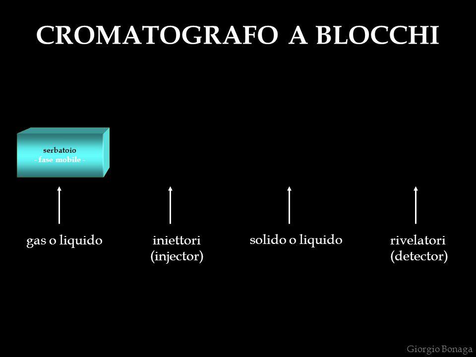 CROMATOGRAFO A BLOCCHI introduzione del campione