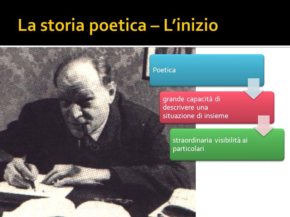 La storia poetica – L'inizio