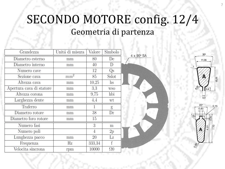 SECONDO MOTORE config. 12/4