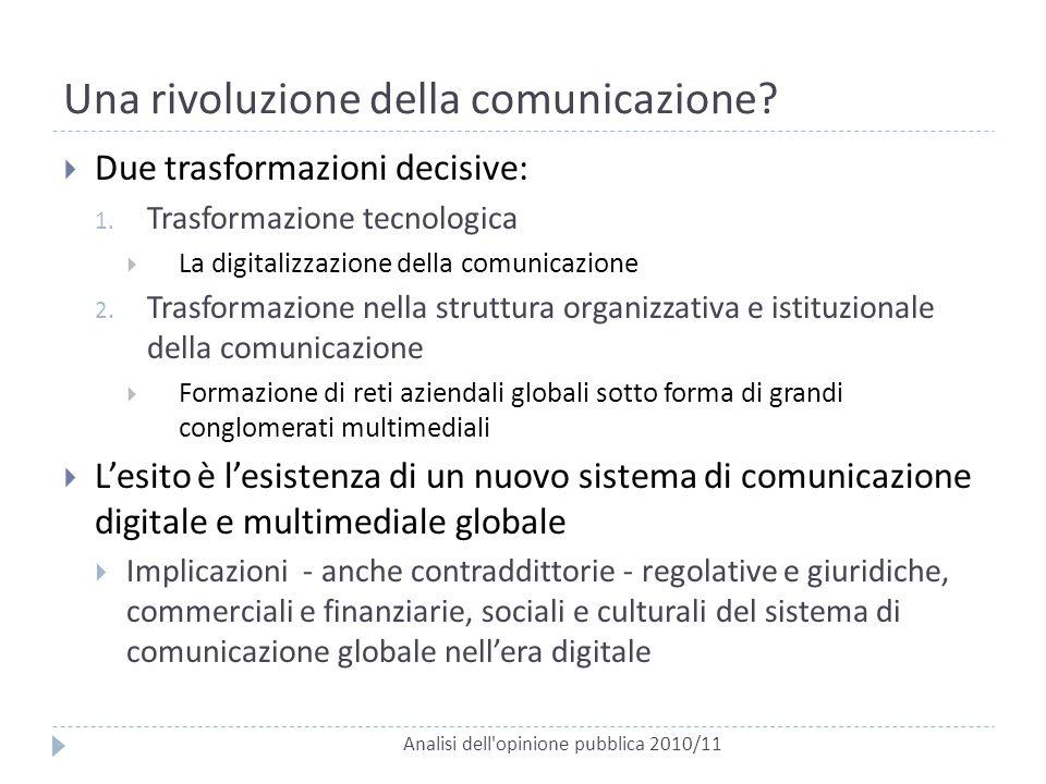 Una rivoluzione della comunicazione