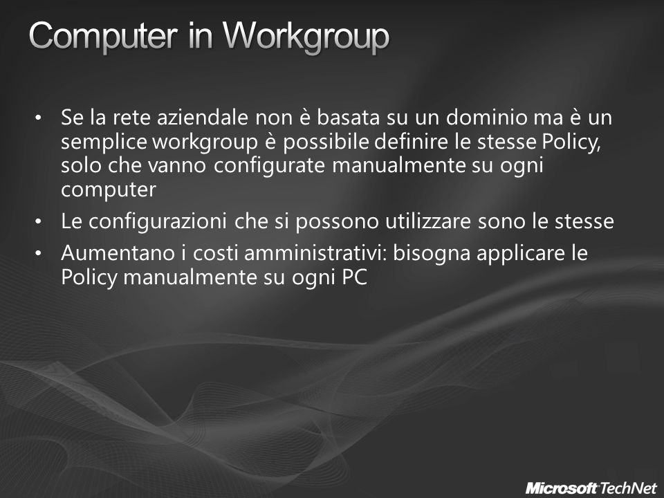 Computer in Workgroup