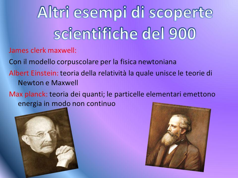 Altri esempi di scoperte scientifiche del 900