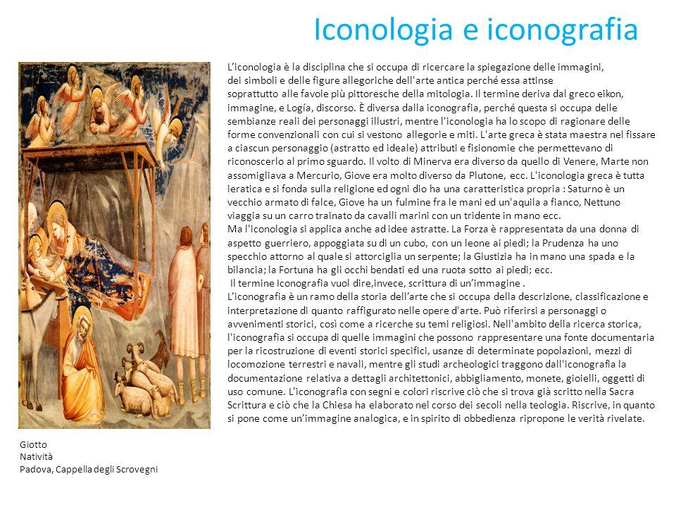 Iconologia e iconografia