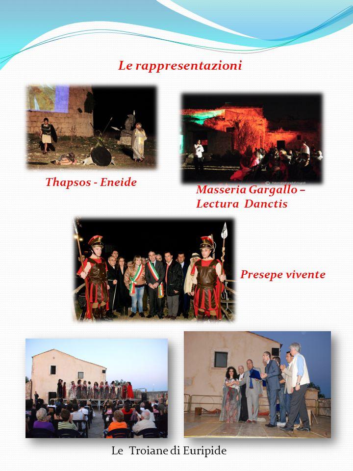 Le rappresentazioni Thapsos - Eneide