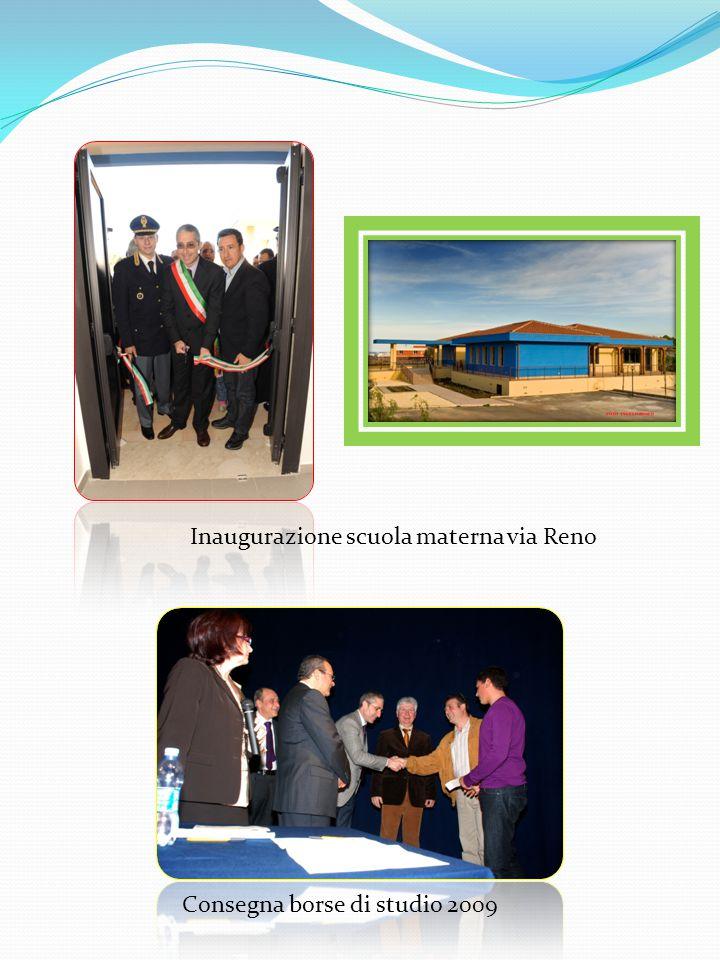 Inaugurazione scuola materna via Reno