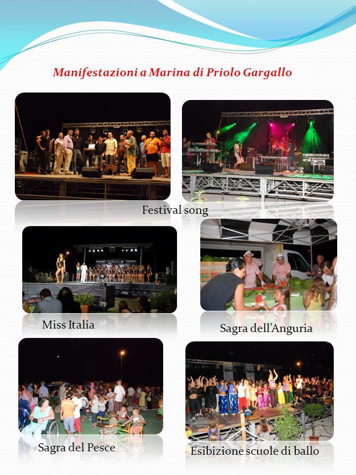 Manifestazioni a Marina di Priolo Gargallo