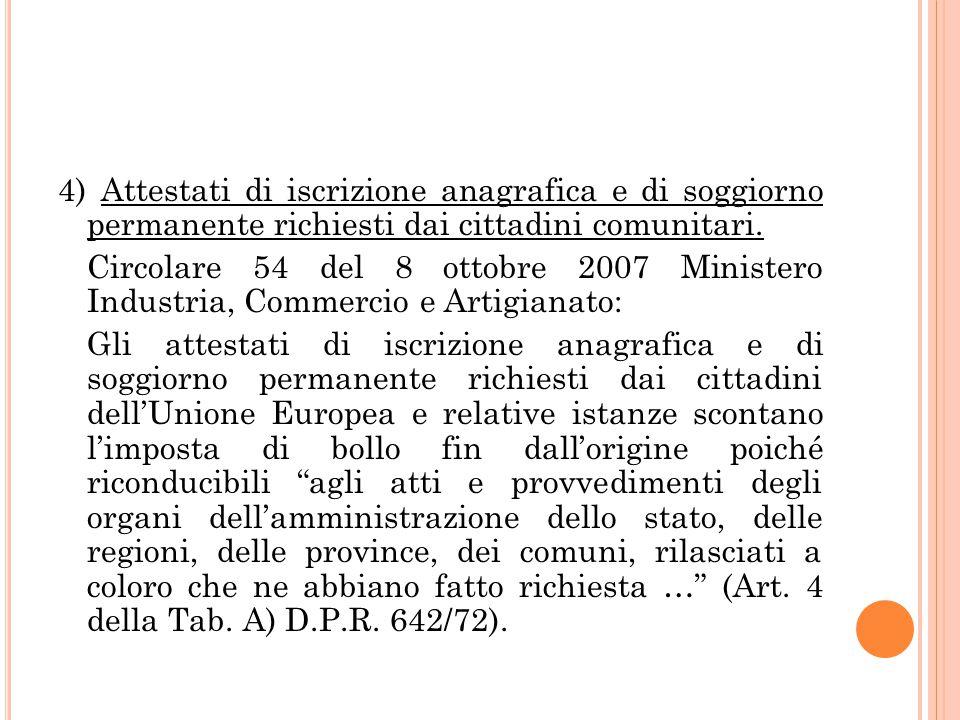 L\'IMPOSTA DI BOLLO APPLICATA AI CERTIFICATI ED ALLE AUTENTICAZIONI ...