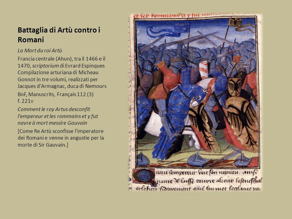 Battaglia di Artù contro i Romani