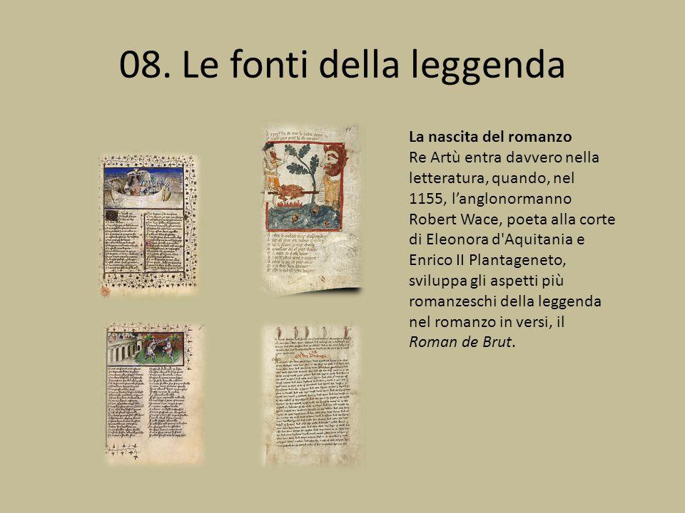08. Le fonti della leggenda