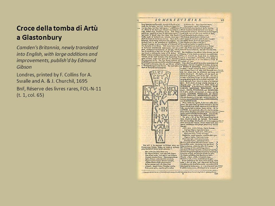 Croce della tomba di Artù a Glastonbury