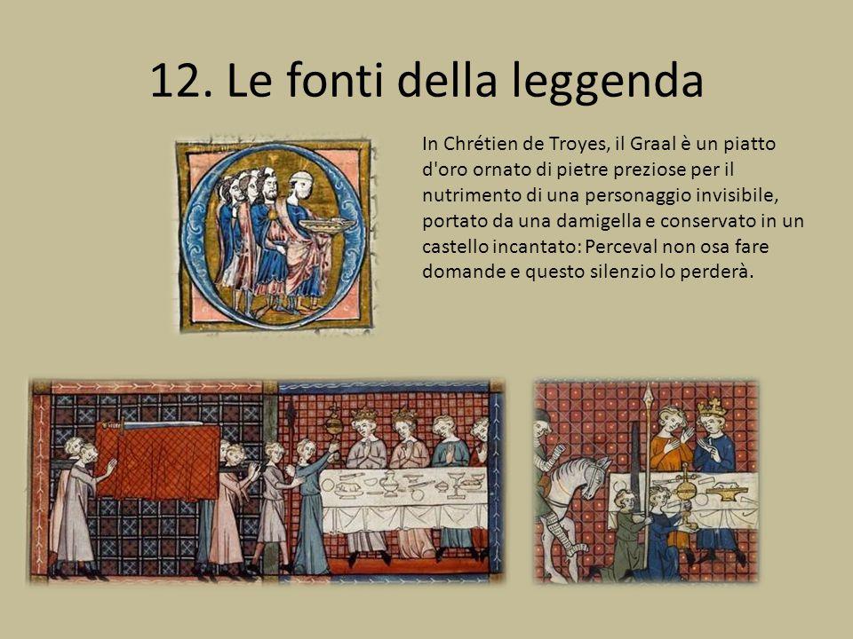 12. Le fonti della leggenda