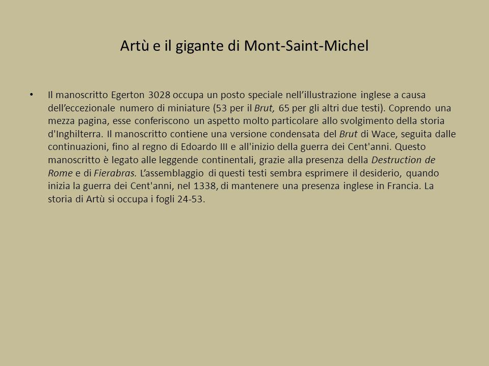 Artù e il gigante di Mont-Saint-Michel