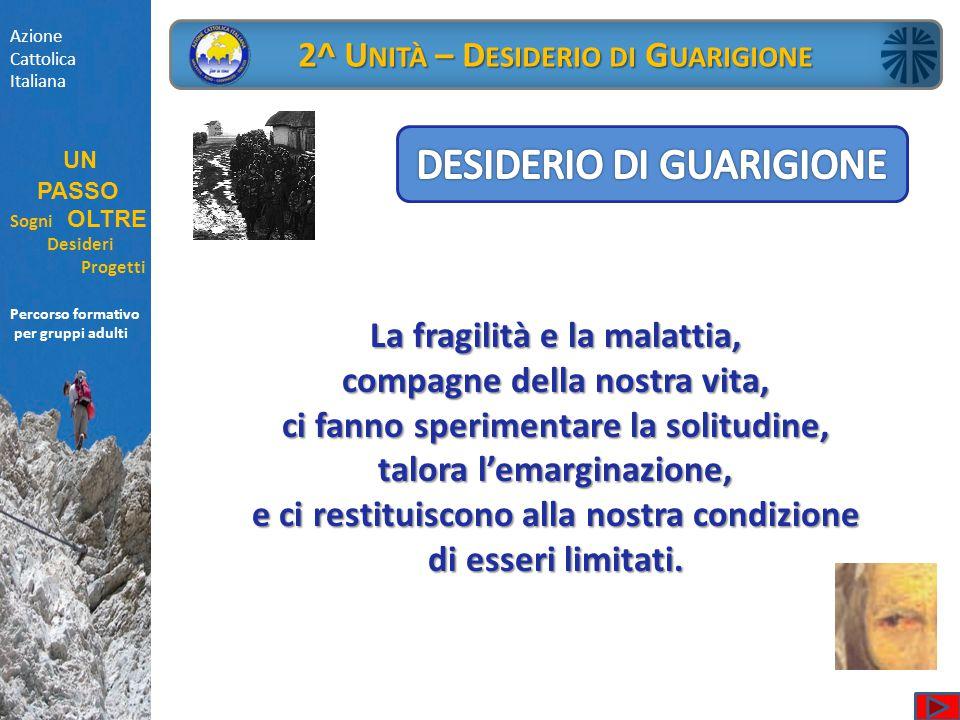 DESIDERIO DI GUARIGIONE