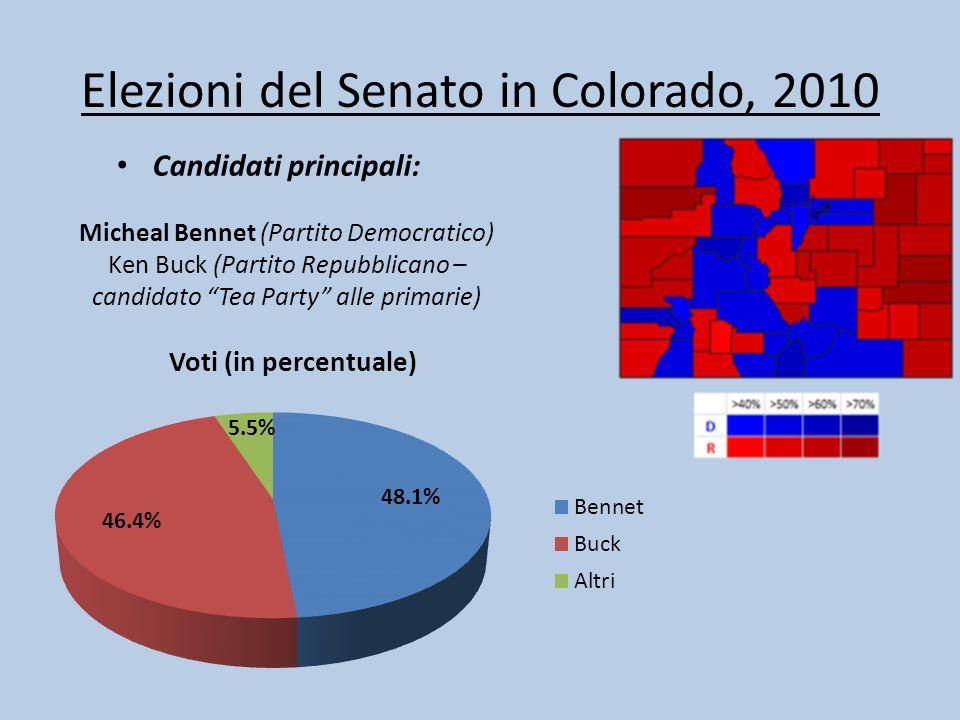 Elezioni del Senato in Colorado, 2010