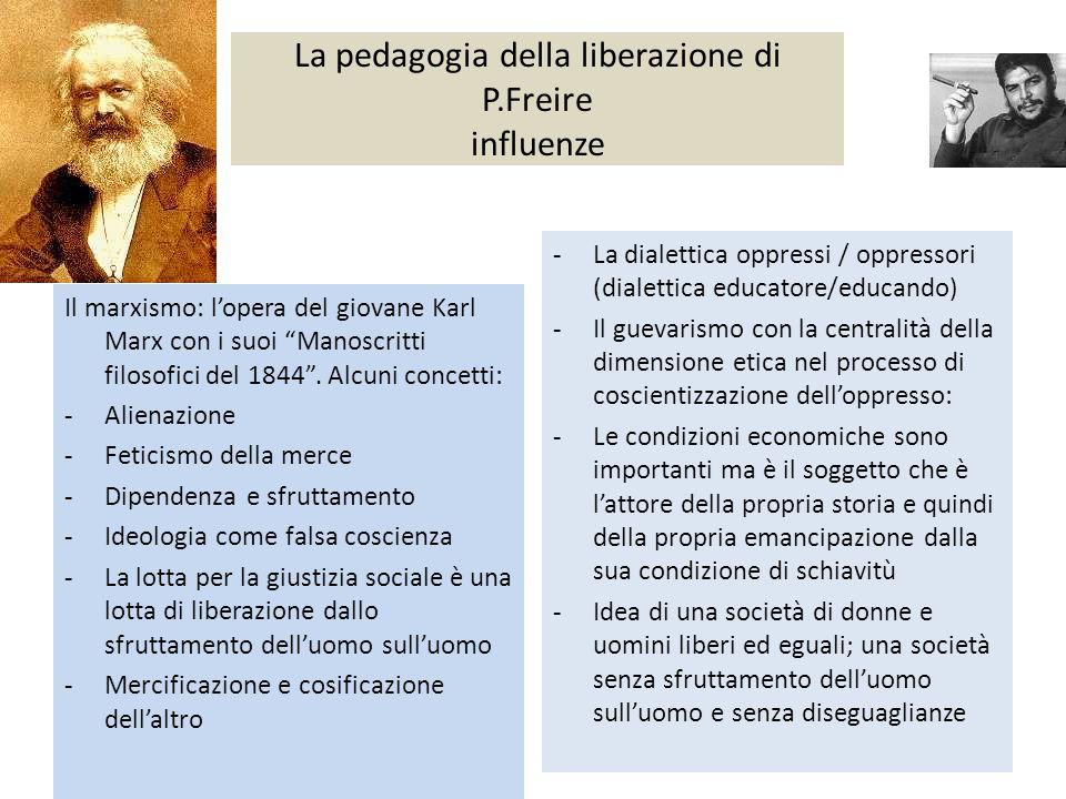 La pedagogia della liberazione di P.Freire influenze