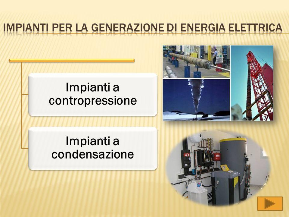 Impianti per la generazione di energia elettrica