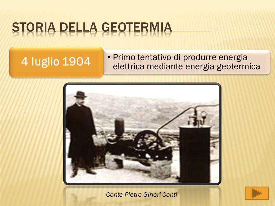 Storia della geotermia
