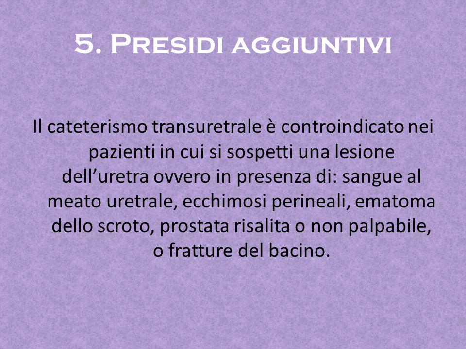 5. Presidi aggiuntivi