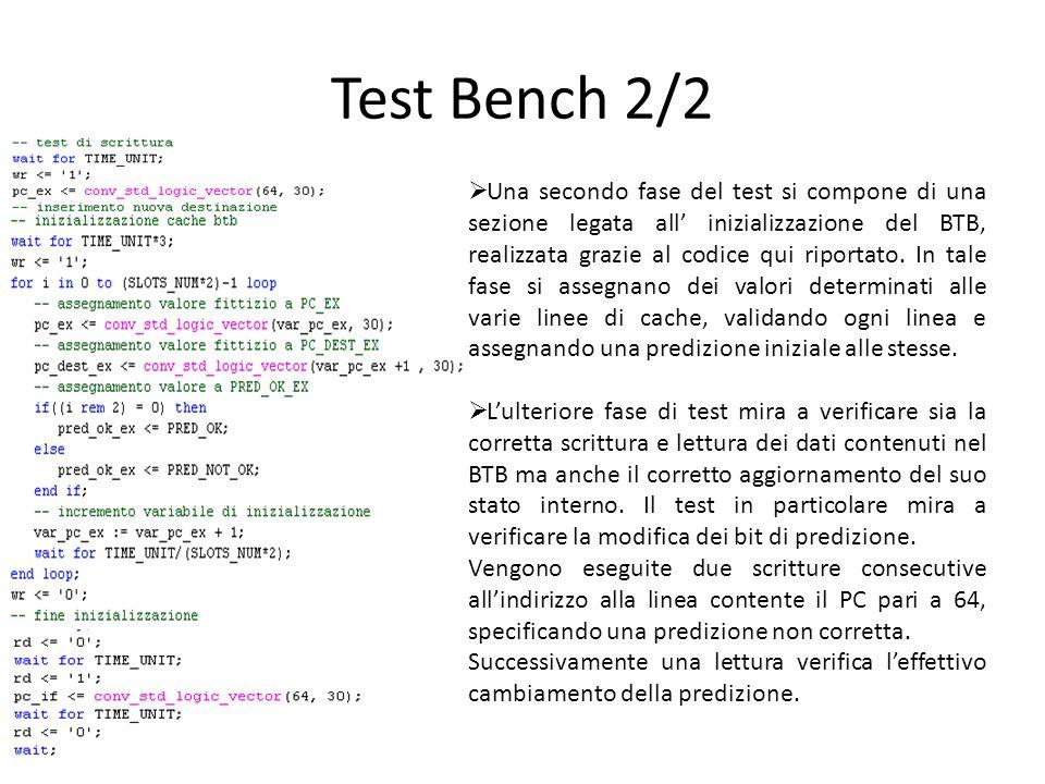 Test Bench 2/2