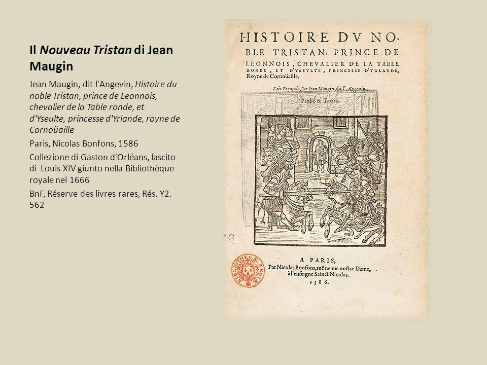 Il Nouveau Tristan di Jean Maugin