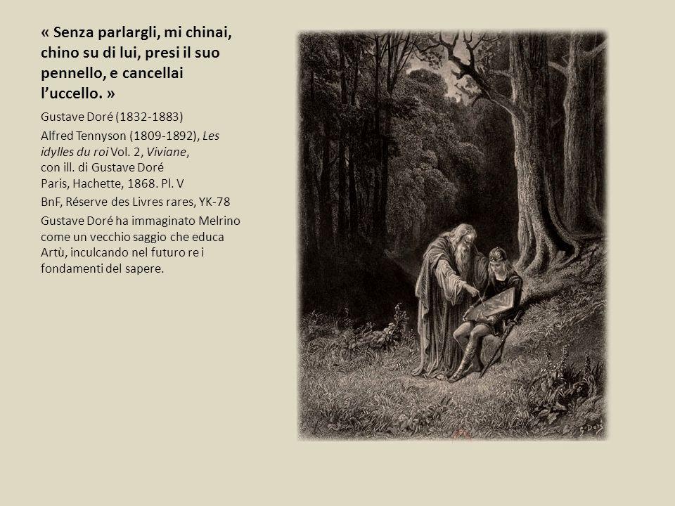 « Senza parlargli, mi chinai, chino su di lui, presi il suo pennello, e cancellai l'uccello. »