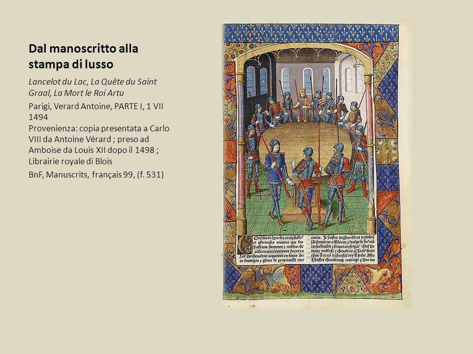 Dal manoscritto alla stampa di lusso