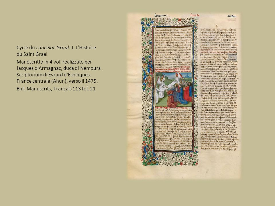 Cycle du Lancelot-Graal : I. L Histoire du Saint Graal