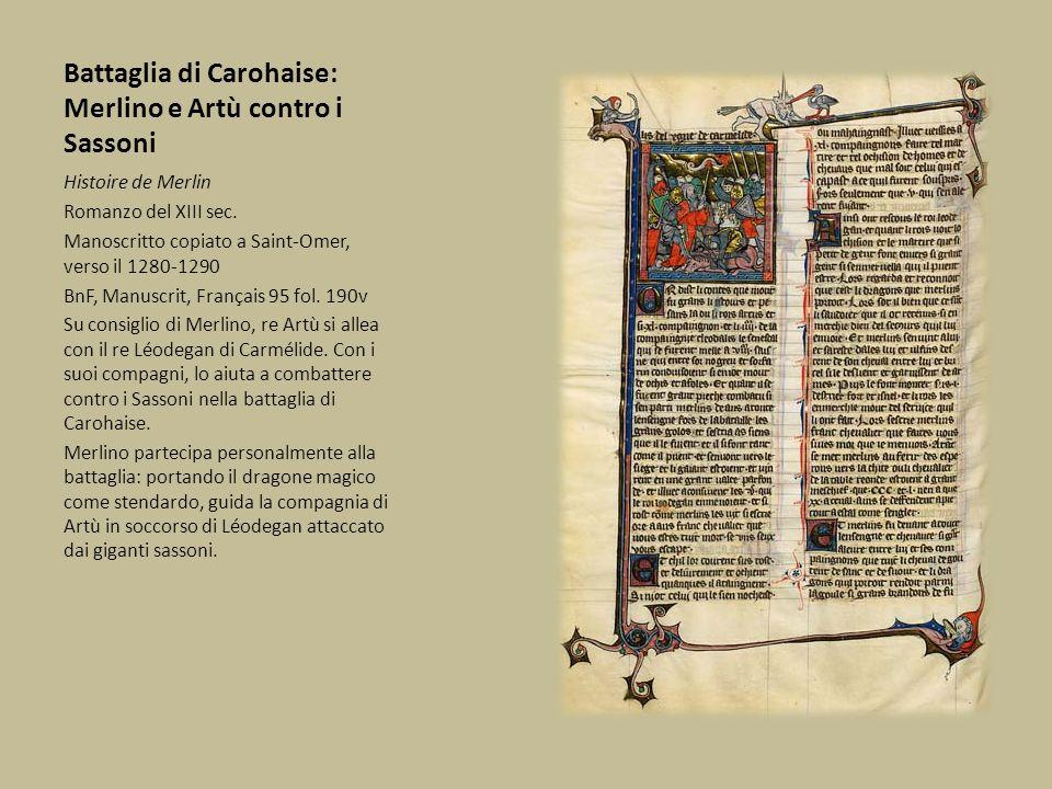 Battaglia di Carohaise: Merlino e Artù contro i Sassoni