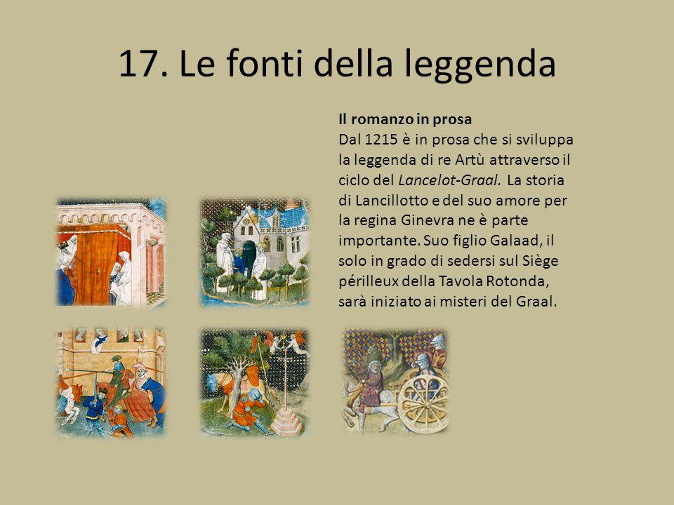 17. Le fonti della leggenda